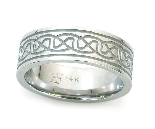 Men's Band in 14k White